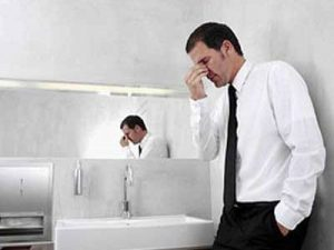 男人肾虚症状图,夜尿增多,头晕耳鸣,畏寒体冷