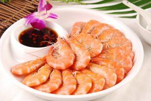 壮阳食物虾图